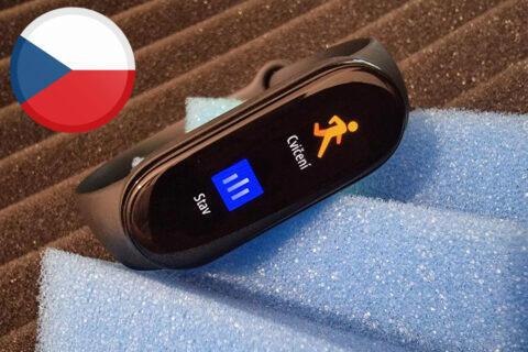 Xiaomi Mi Smart Band 6 aktualizace český jazyk