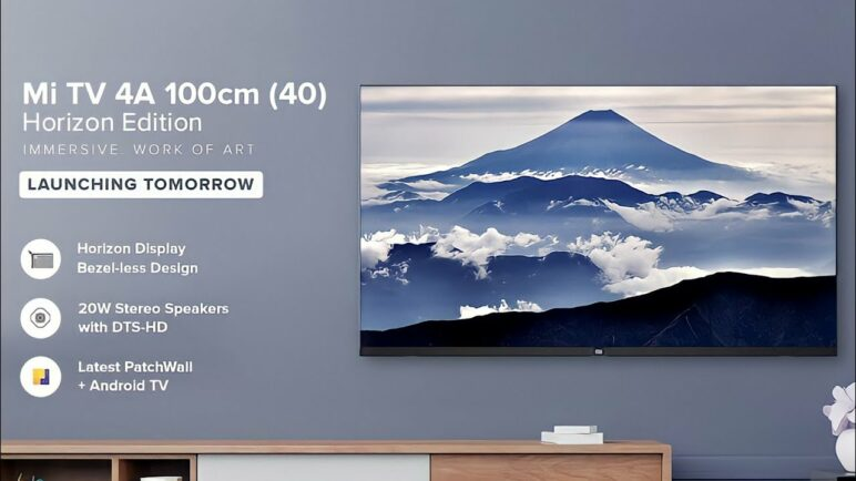 Xiaomi Mi TV 4A 40 Horizon Edition First Look! | Reviews Full Specifications