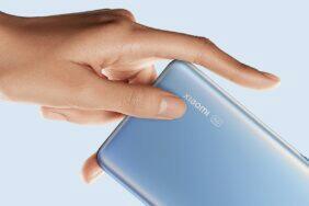 Xiaomi patent boční čtečka otisků pod displejem