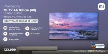 Xiaomi představilo Mi TV 4A 40 Horizon Edition