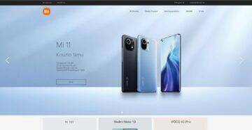 Xiaomi web v češtině homepage v češtině homepage