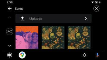 YouTube Music staré rozhraní v Android Auto