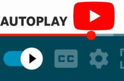 Žádaná funkce aplikace YouTube aktualizace automatické přehrávání