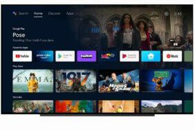 Změna účtu u Google TV