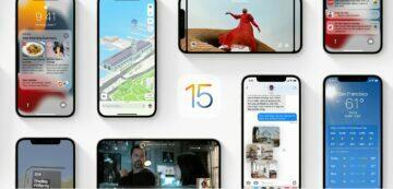 ztracený iPhone s iOS 15 Apple ztracený telefon novinky