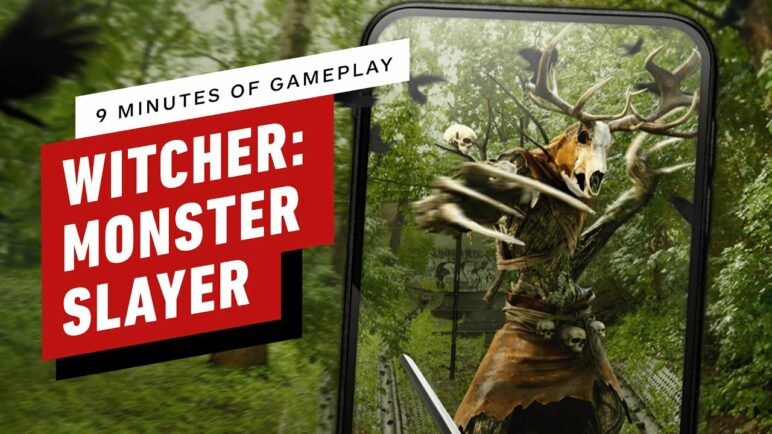 9 Minutes of The Witcher: Monster Slayer Mobile Gameplay