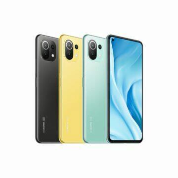 9) Xiaomi Mi 11 Lite barvy