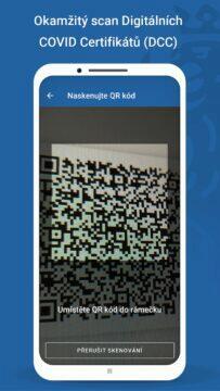 aplikace čTečka QR kód
