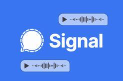 Aplikace Signal WhatsApp chatování hlasové zprávy