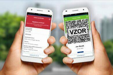 aplikace Tečka čTečka covid pas pass ČR Android stažení download