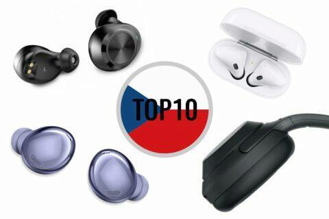 bezdrátová Bluetooth sluchátka TOP 10 ČR