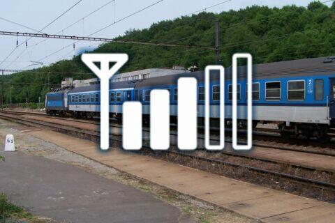 ČD Siemens vlak signál