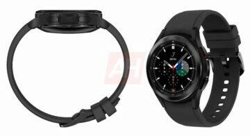 chytré hodinky Samsung Galaxy Watch 4 Classic luxusní hodinky smartwatch černá barva
