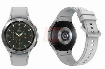 chytré hodinky Samsung Galaxy Watch 4 Classic luxusní hodinky smartwatch šedá barva