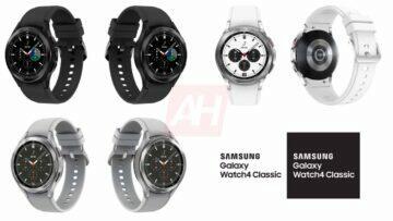 chytré hodinky Samsung Galaxy Watch 4 Classic luxusní hodinky smartwatch varianty