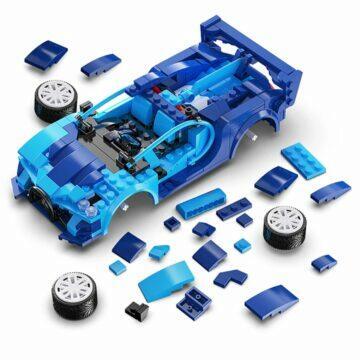 chytré hračky pro děti zboží z Číny AliExpress Skládací autíčko Cada díly