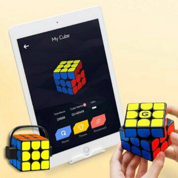 chytré hračky pro děti zboží z Číny AliExpress Xiaomi Giiker i3s chytrá Rubikova kostka aplikace
