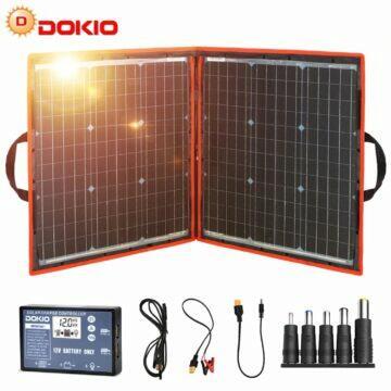 Dokio skládací solární 80W panel