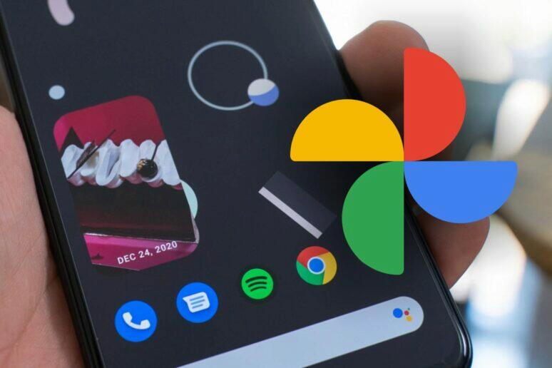 Fotky Google widget