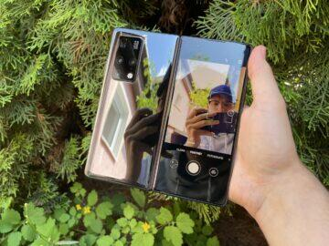 fotoaparát huawei mate x2