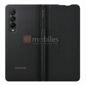 Galaxy Z Fold3 S Pen obal záda