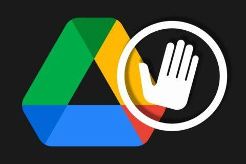 Google Disk blokování uživatelů