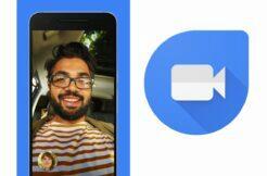 Google Duo nové tlačítko