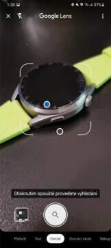 Google Lens snímání nový design 2