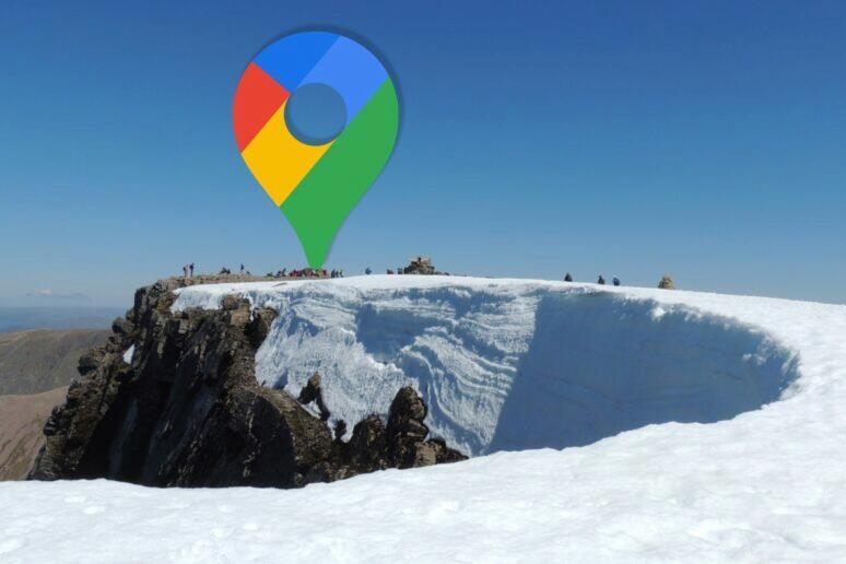 Google Mapy horské túry