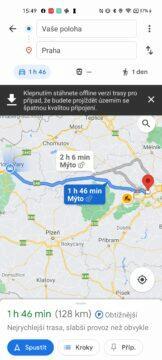 google mapy tipy a triky 2021