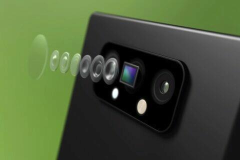 Gorilla Glass DX Samsung foťáky