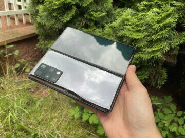 Huawei Mate X2 test