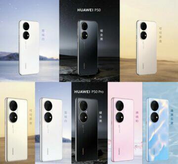 Huawei nové vlajkové lodě