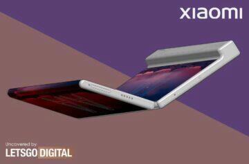Koncept ohebného telefonu Xiaomi Mi Mix Alpha