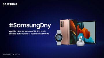 letní Samsung akce kombinace výhodných nabídek