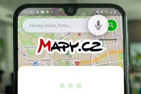 Mapy.cz hlasové vyhledávání příkazy
