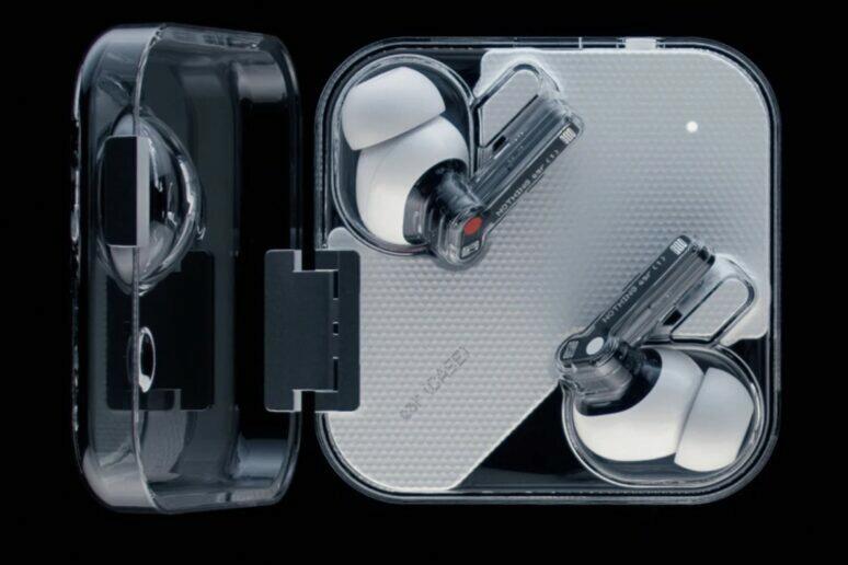 Nothing Ear (1) sluchátka uvedení cena design