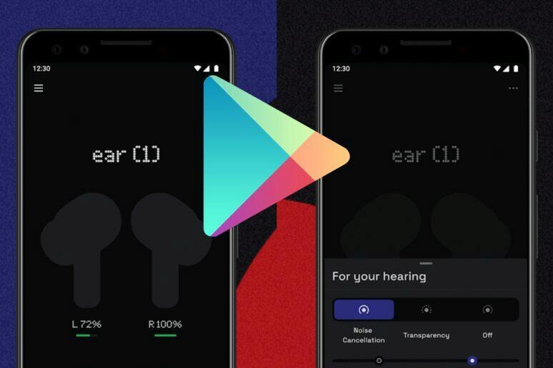 Nothing Ear aplikace