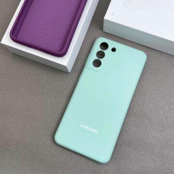 Obaly na sérii Samsung Galaxy S21 tyrkysová
