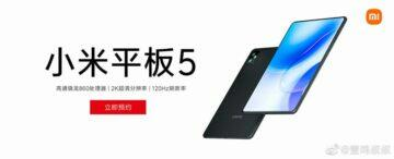 Oficiální plakát Xiaomi Mi Pad 5