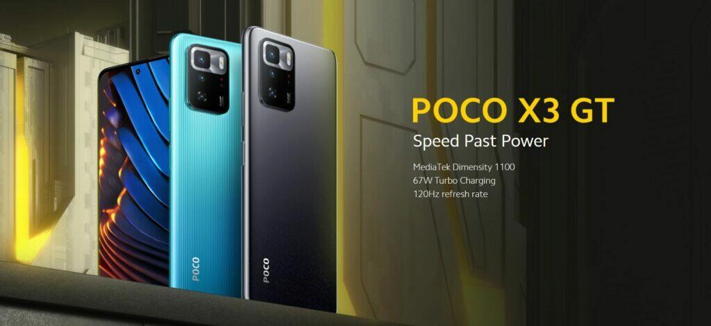 POCO X3 GT globální cena banner