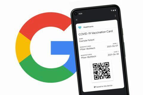 potvrzení o očkování Android Google