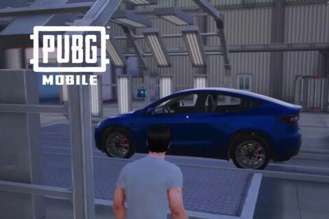 PUBG Mobile Tesla Model Y