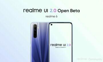 realme 6 a 6i dostávají betu realme UI 2.0