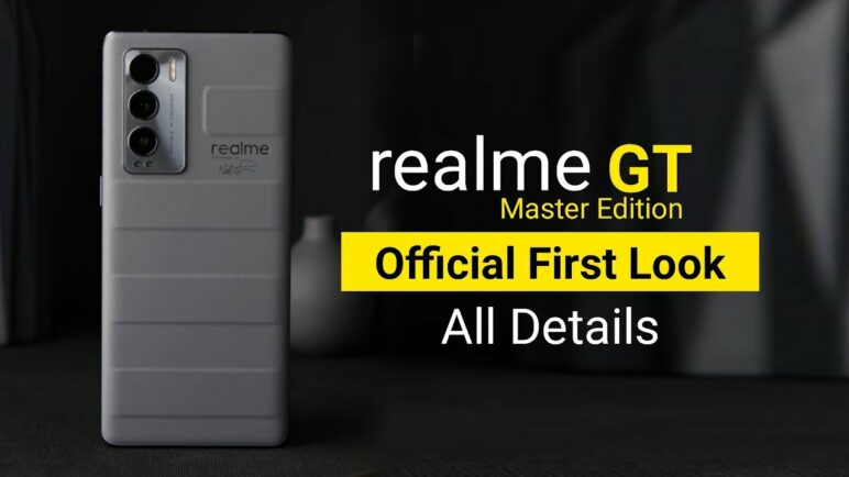 Realme GT Master Edition First Look & Full Specification
