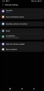 Samsung Galaxy Buds2 AirPods ANC Galaxy Wearable app 2