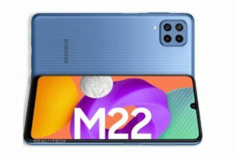 Samsung Galaxy M22 specifikace