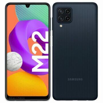 Samsung Galaxy M22 specifikace černá