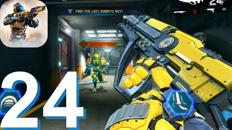 SHADOWGUN LEGENDS - Gameplay Walkthrough Part 24 New Update (Android, iOS Game)