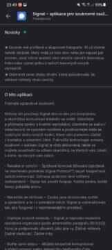 Signal aplikace tvůrce avatarů Obchod Play
